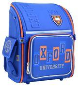 Рюкзак шкільний каркасний YES H-18 Oxford Рельєфна ортопедична спинка, система кріплення лямок, посилене дно, світловідбиваючі елементи