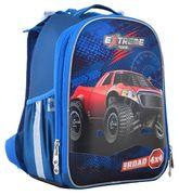 Рюкзак шкільний каркасний YES H-25 Extreme Рельєфна ортопедична спинка, система кріплення лямок, посилене дно, світловідбиваючі елементи