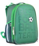 Рюкзак шкільний каркасний YES H-25 Football Рельєфна ортопедична спинка, система кріплення лямок, посилене дно, світловідбиваючі елементи