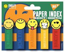 Стікери паперові 50х15 мм, 5х20 шт Smiley World.College Yes