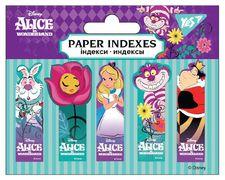 Стікери паперові 50х15 мм, 5х20 шт  Alice in Wonderland Yes