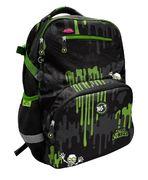 Рюкзак шкільний Zombie T-117 Yes, анатомічна дихаюча спинка, система кріплення лямок, світловідбиваючі елементи