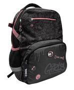 Рюкзак шкільний Cool girls T-117 Yes, анатомічна дихаюча спинка, система кріплення лямок, світловідбиваючі елементи