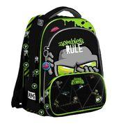 Рюкзак шкільний JUNO ULTRA Zombie S-30 Yes, ортопедична спинка, система кріплення лямок, світловідбиваючі елементи