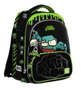 Рюкзак шкільний JUNO ULTRA Premium Zombie S-30 Yes, ортопедична спинка, система кріплення лямок, світловідбиваючі елементи