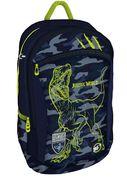 Рюкзак шкільний  Military Dino T-121 Yes, анатомічна дихаюча спинка, система кріплення лямок, світловідбиваючі елементи