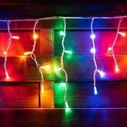 Гирлянда-штора светодиодная, электрическая. уличная, длина 5,5 м, 80 ламп, IP 65, многоцветная 801169 Yes