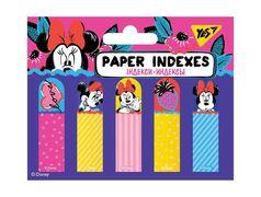 Стікери паперові 50х15 мм, 5х20 шт Minnie Mouse Yes
