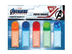 Стікери паперові 50х15 мм, 5х20 шт Marvel Avengers Yes