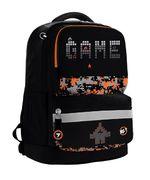 Рюкзак шкільний Juno XS Game Ergo S-30 Yes, дихаюча ортопедична спинка, система кріплення лямок, світловідбиваючі елементи