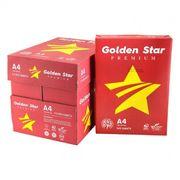 Папір офісний білий А4, 500 аркушів, клас А, щільність 80 г/м2 Golden Star