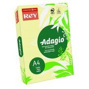 Папір кольоровий офісний А4 Adagio Pastel Canary 03 (жовтий) 160 г/м2 250 аркушів