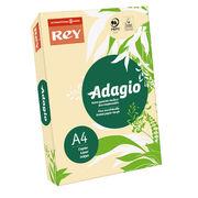 Папір кольоровий офісний А4 Adagio Pastel Sand 38 (жовтий) 160 г/м2 250 аркушів