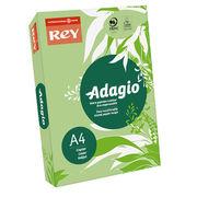 Папір кольоровий офісний А4 Adagio Pastel Green 09 (зелений) 160 г/м2 250 аркушів