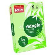 Папір кольоровий офісний А4 Adagio Bright Green 81 (зелений) 160 г/м2 250 аркушів