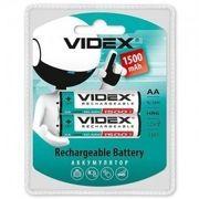 Аккумуляторы Videx HR6/AA 1500mAh double blister/2pcs 20/200