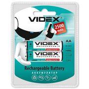 Аккумуляторы Videx HR6/AA 2500mAh double blister/2pcs 20/200